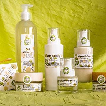 Bulle de sève, produits cosmétiques bio fabriqués en Limousin, Nouvelle-Aquitaine.