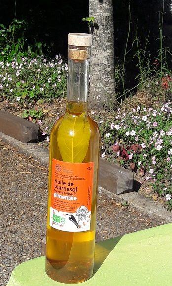 NOUVEAU : notre huile de tournesol pimentée